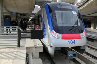 تغییر در برنامه حرکت قطارهای خط ۵ متروی تهران در روز جمعه