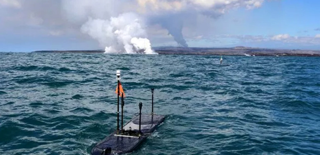 Robots to collect live ocean data from Hawaii's Kilauea volcano