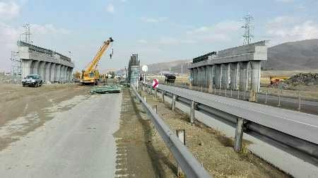 قطعه نخست آزادراه خرم آباد ـ اراک در مراحل پایانی