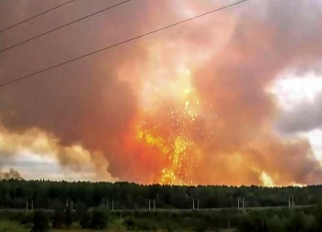 روایت انفجار اسرار آمیز از سلاح آخرالزمانی روسیه