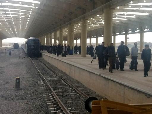 اعزام نخستین قطار اربعین حسینی از تهران به مقصد کرمانشاه