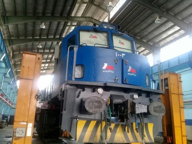 تعمیر و راه اندازی بیش از ۳۵۰۰ لکوموتیو  در راهآهن یزد