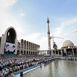 محدودیت ترافیکی و توقف خودروها اطراف مصلی در روز عید قربان
