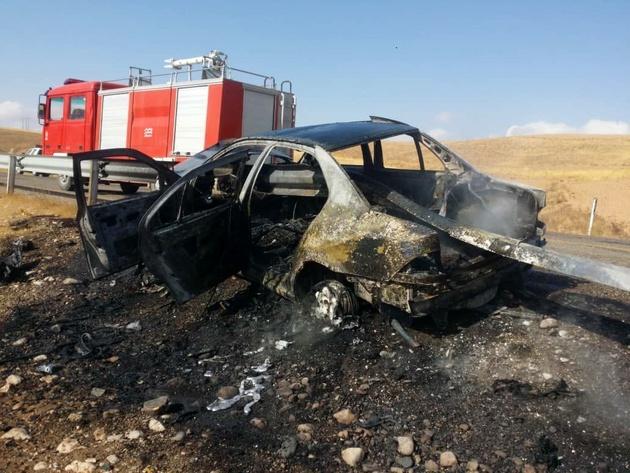 حادثه رانندگی، سه نفر را در میبد یزد به کام مرگ کشاند