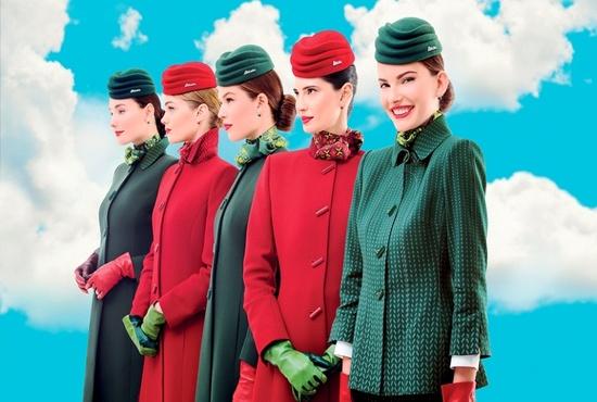 شرکتهای هواپیمایی با بهترین و شیکترین طراحی لباس مهمانداران