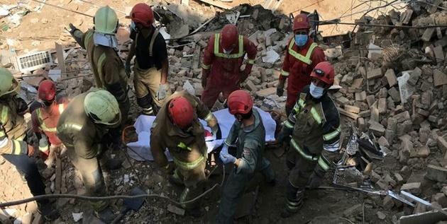 حادثه ساختمان شمال شهر تهران؛ هر سه کارگر مدفون شده زیر آوار فوت شدند