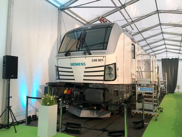 Siemens unveils Dual-Mode Vectron