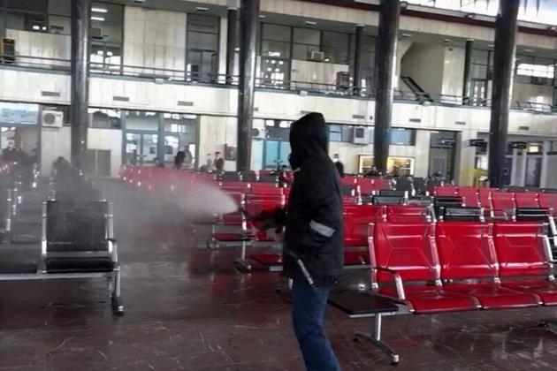 قطارها و ایستگاههای راه آهن آذربایجان هر روز ضدعفونی میشود