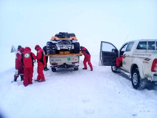 اسکان اضطراری بیش از ۵ هزار نفر متاثر از برف و کولاک