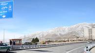 نخستین تصاویر از آزادراه تهران-شمال در ۵۰ ثانیه