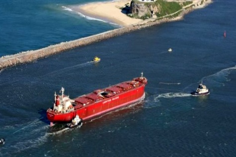 Ten years passed since the Pasha Bulker grounding