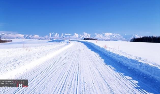 مسدود شدن راه ۳۰۰ روستای کردستان در پی بارش برف