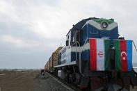 ورود نخستین قطار باری روسیه به بارانداز آستارا