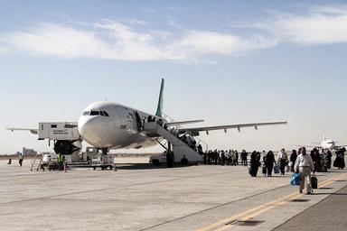 پرواز اختصاصی حاجیان بیمار در فرودگاه حضرت امام به زمین نشست