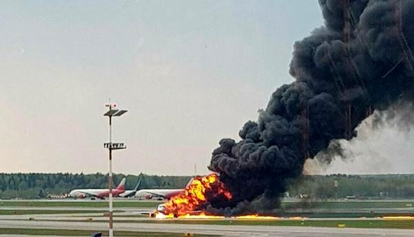 آتشسوزی هواپیمای سوخو سوپرجت روسی، 41 کشته داد