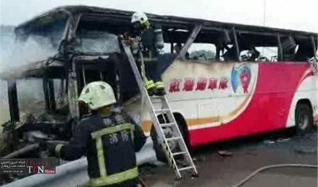 آتشسوزی جان ۲۶ گردشگر چینی را در تایوان گرفت