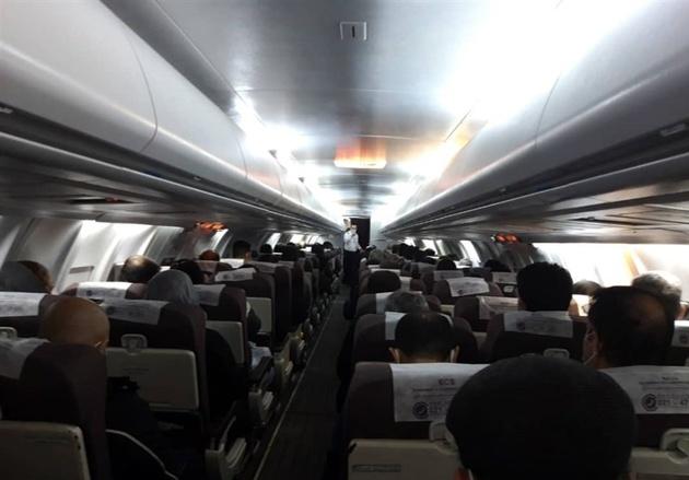 تداوم بیتوجهی هواپیمایی کارون به مصوبه ستاد ملی کرونا