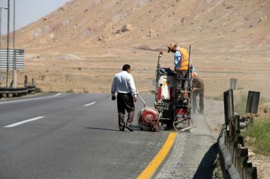 خط کشی ۳۰۰۰ کیلومتر از راههای گیلان تا پایان سال