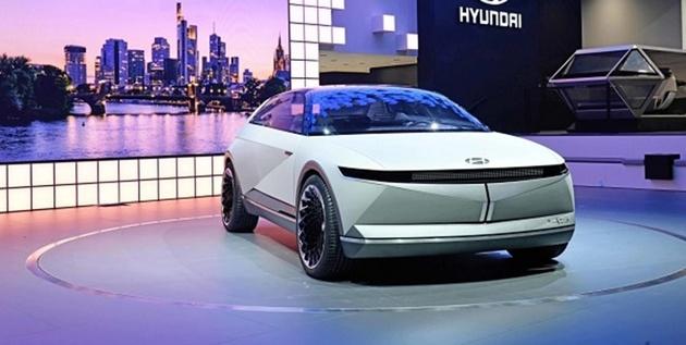 هیوندایی خودروی برقی مفهومی جدید تولید کرد