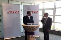 گزارش تصویری/ مراسم تحویل 4 فروند هواپیمای ATR  به هما