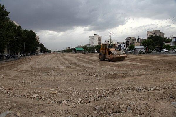 ورودی بزرگراه شهید بروجردی به بزرگراه آزادگان افتتاح شد