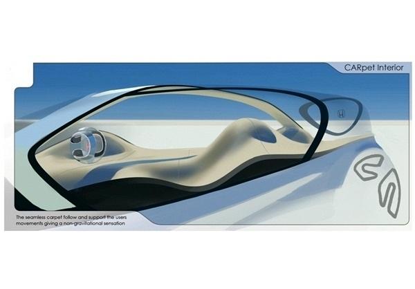 صندلی و فرمان خودروهای آینده+تصاویر