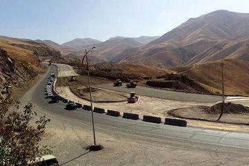 ۱۵ کیلومتر از محور چهارخطه  سنندج – همدان تا مهر ۹۷ بهرهبرداری میشود