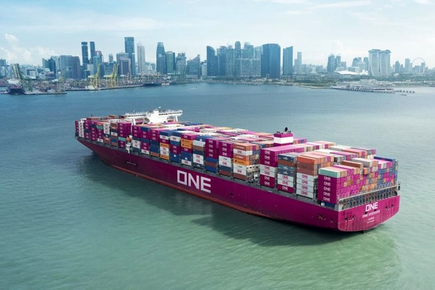 Japan's 'ONE' Network Starts Business as World's Sixth-Largest Container Shipping Line