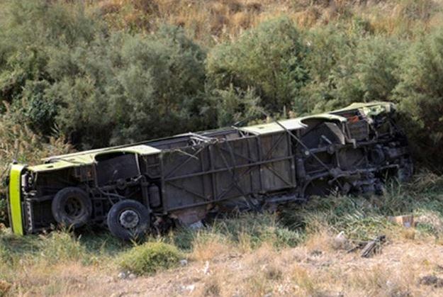 واژگونی اتوبوس در محور «هشترود-مراغه»