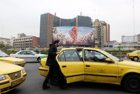تصاویر  وضعیت آرام مرکز شهر تهران