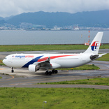 Malaysia Airlines Boeing 737 Bursts Both Left Main Tyres