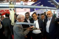 گزارش تصویری/ افتتاح پنجمین نمایشگاه بینالمللی حمل ونقل ریلی با حضور وزیر راه و شهرسازی
