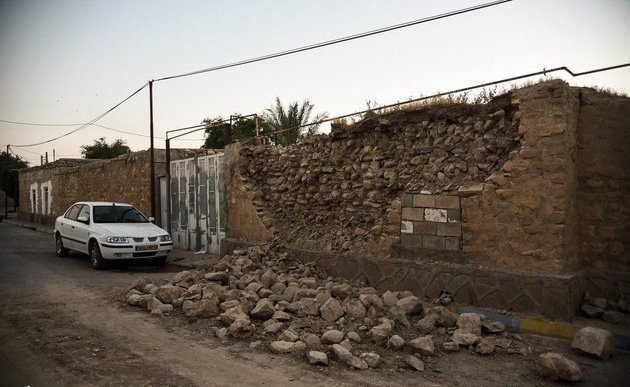 مصدومیت ۱۱۵ نفر در زلزله خوزستان