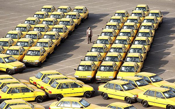 شناسایی 2 هزار تاکسی غیر فعال/هشدار فک پلاک و ابطال سهیمه سوخت