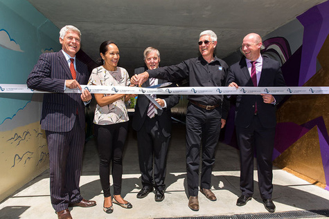 NZTA opens Cobham Drive underpass in Hamilton