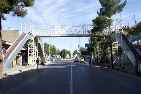 زیباسازی پلهای عابر پیاده محورهای مواصلاتی استان مازندران