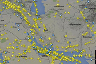 Iran lost $350 billion overflight fees due plane crash