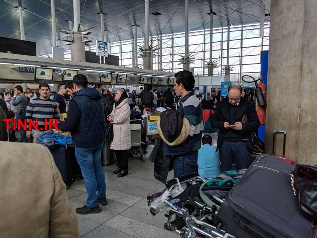 کاهش چشمگیر تأخیر پروازها در فرودگاه امام