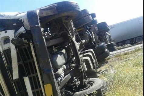 دو کشته در تصادف جاده نی ریز