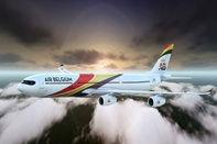 Air Belgium's first Airbus A330-200F to land in Brussels on 15 February