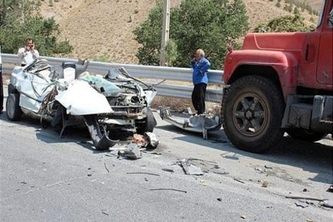 کاهش تلفات و مصدومان حوادث رانندگی در جاده های سبزوار