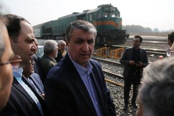 بازدید وزیر راه و شهرسازی از طرح های ریلی و جادهای ورامین