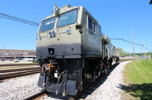 GE rolls out first Evolution Series locomotive for Indian Railways