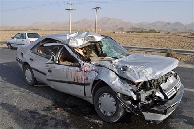 سانحه رانندگی در آزاد راه زنجان - قزوین جان راننده را گرفت