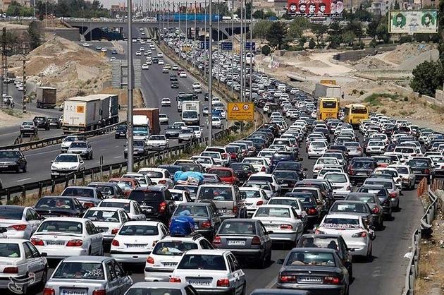 ترافیک نیمه سنگین در آزادراههای تهران