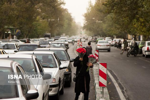 هوای تهران در مرز شرایط ناسالم برای گروههای حساس