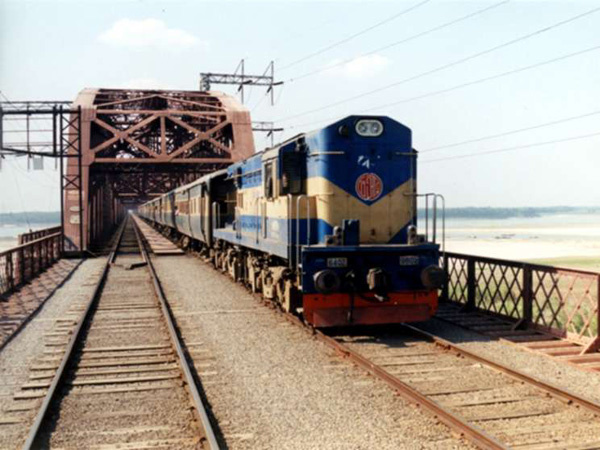 Double track to Chittagong