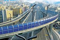 مدل تردد در بزرگراه صدر و تونل نیایش تغییر کرد
