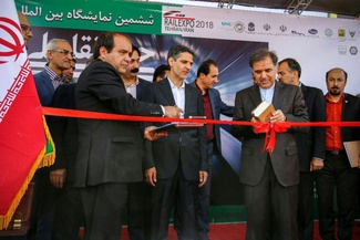افتتاحیه ششمین نمایشگاه حمل و نقل ریلی تجهیزات و صنایع وابسته