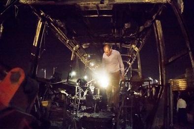 ساعات بحرانی در انتظار مصدومان سانحه اتوبوس سنندج / بررسی محل به منظور یافتن اجساد جدید
